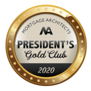 Mortgage Architects President's Club 2020 - TOP 5%